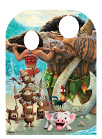Moana Child Stand-in Child Sized - Cardboard Cutout