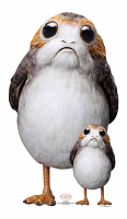 Porg (The Last Jedi) Star-Mini Star Wars - Cardboard Cutout