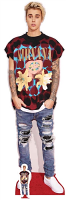 Justin Bieber (Ripped Jeans) - Cutout