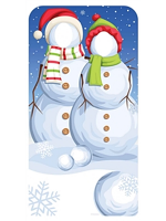Snowmen Stand-In Christmas Cardboard Cutout