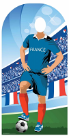 France (World Cup Event Football Stand-IN) - Cardboard Cutout