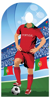Portugal (World Cup Football Stand-IN) - Cardboard Cutout