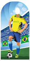 Brazil (World Cup Football Stand-IN) - Cardboard Cutout