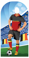 Belgium (World Cup Football Stand-IN) - Cardboard Cutout