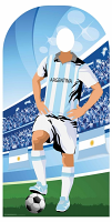 Argentina (World Cup Football Stand-IN) - Cardboard Cutout