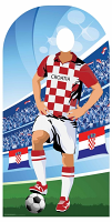 Croatia (World Cup Football Stand-IN) - Cardboard Cutout