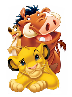 Lion King Group (Simba, Timon and Pumbaa) Cardboard Standee