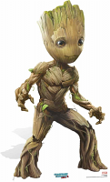 Baby Groot Cute Pose GOT Vol. 2 - Cardboard Cutout