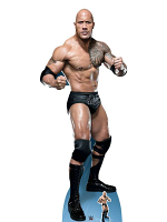 The Rock Dwayne Johnson 'Just bring it' World Wrestling Entertainment WWE