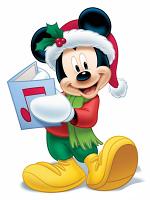 Disney Christmas Mickey Mouse Singing (Christmas Carol) Star-Mini