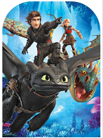 How to Train Your Dragon 3 Stand-In Toothlless Hiccup Stormfly Nadder Astrid