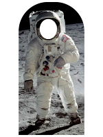 Buzz Aldrin Stand-In Large Cardboard Cutout