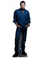 Dean Winchester Blue Shirt Jeans (Jensen Ackles Supernatural)
