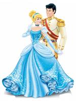 Disney Princess Cinderella and Prince Charming Mini Cardboard Cutouts