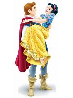 Disney Princess Snow White and The Prince Prince Florian Mini Cardboard Cutouts