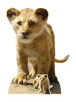 Simba (Young) Lion King Live Action Star-Mini Cardboard Cutout