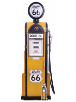 Route 66 Gas Pump Large Cardboard Cutout
