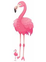 Pink Flamingo Large Fun Cardboard Cutout