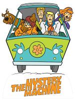Fred's Mystery Machine Van Scooby Doo Star Mini Van