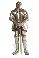 Knight in Shining Armour - Cardboard Cutout
