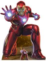 Legends Iron Man Repulsor Beam Blast I am Iron Man Figure Cardboard Cutout