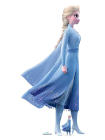 Elsa Magical Powers Frozen 2 Perfect for Frozen Fans, Parties and Events Height 183cm Width 90cm