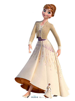 Anna Cream Dress Frozen 2 Perfect for Frozen Fans, Parties and Events Height 164cm Width 94cm