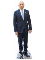 Sajid Javid Conservatives Politician Cardboard Cutout