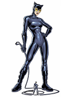 Catwoman with Whip Cardboard Cutout