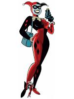 Harley Quinn Classic Gun Cardboard Figure