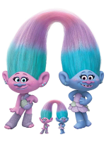 Sisters Satin and Chenile Trolls World Tour