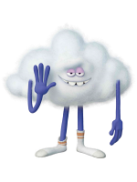 Cloud Guy Trolls Cardboard Cutout