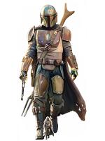 The Mandalorian Lone Gunfighter Cardboard Cutout