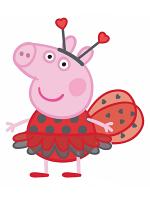 Peppa Pig Ladybird Lifesize Cardboard Cutouts/ Standee/ Stand Up