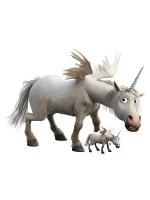 Unicorn Onward Cardboard Cutout