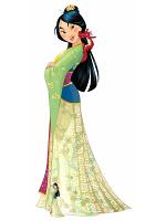 Mulan and Mushu (Cartoon) Cardboard Cutouts