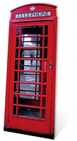 Phone Box - Cardboard Cutout