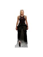 Kara Thrace Starbuck Katee Sackhoff Battlestar Galactica Lifesize Cardboard Standee with Free Mini Standee