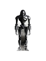 Cylon Cybernetic Lifeform Node Battlestar Galactica Lifesize Cardboard Standee with Free Mini Standee