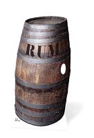 Barrel 'O' Rum - Cardboard Cutout
