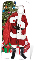 Father Christmas 'Stand-In' - Cardboard Cutout