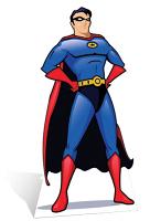 Superhero Cardboard Cutout