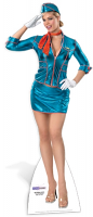 Air Hostess - Cardboard Cutout