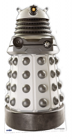 White Supreme Dalek - Cardboard Cutout