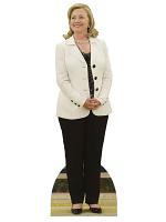 Hilary Clinton White Jacket