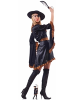 Pirate Woman with Sword Cardboard Cutout