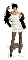 Broadway 1920's Flapper Babe - Cardboard Cutout