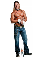 Kevin Cornell Chippendales Cuff N Collar Lifesize Cardboard Cutout with Free Mini Standee