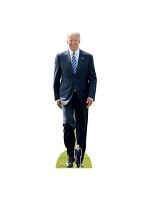 USA President Joe Biden Cardboard Standee with Free Mini Cutout