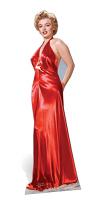 Marilyn Monroe 'Red Gown' - Cardboard Cutout